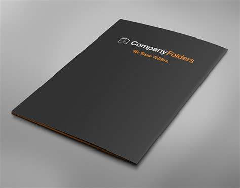 business folder template back cover business folder mockup template free psd psd