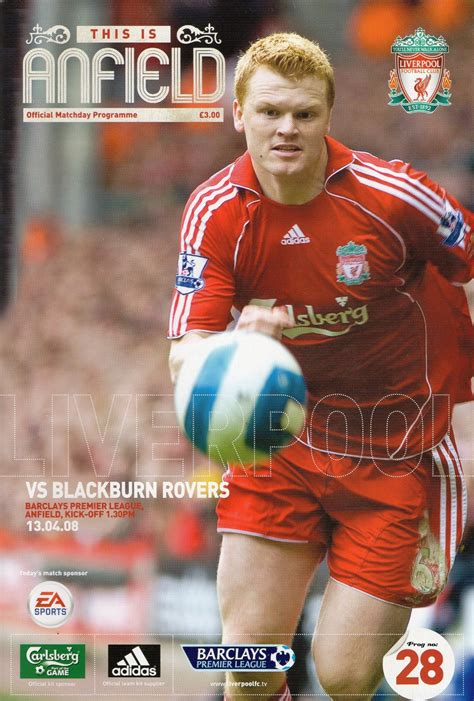 60 mins with steven gerrard lfchistory stats galore matchdetails from liverpool blackburn rovers played on