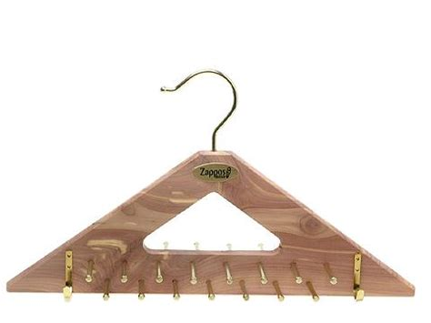 Woodlore Tie Rack by Woodlore Tie Belt Hanger Zappos Free Shipping Both
