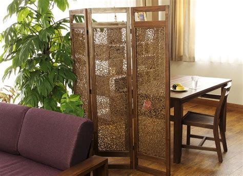 creative room dividers ideas for small dining room with