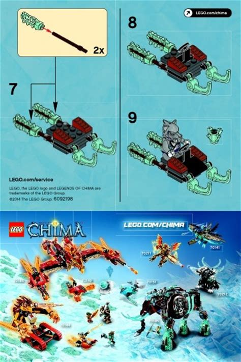 Lego Chima 30266 Sykor S Cruiser Polybag Sykor Kid Minifigure lego chima sykor s cruiser 30266 set released bricks and bloks