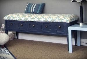 turn a coffee table into a bench coffee table upcycled into a bench with storage