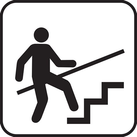 Escalator Handrails Free Vector Graphic Stairs Staircase Stairway Free