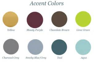 colors that go with choosing accent colors