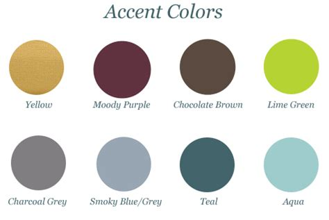 what color goes with green choosing accent colors