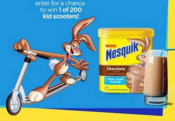 Nestle Giveaway - sweepstakes nestl 233 nesquik scooter giveaway