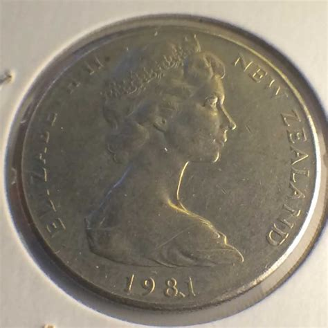Nem 20c 1981 new zealand 1967 1985 elizabeth ii 20 cents