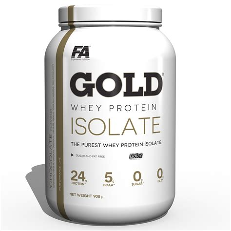 Whey Fitnes fa fitness authority gold whey protein 908g purest whey