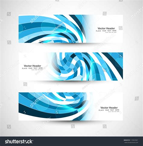 13 abstract header design images blue abstract waves abstract swirl header blue wave vector stock vector