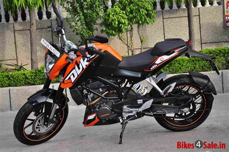 Ktm Duke 200 Orange Orange Ktm Duke 200 Picture 1 Album Id Is 101283 Bike
