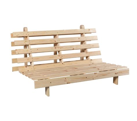 Structure Pour Futon by Structure Futon En Bois Naturel