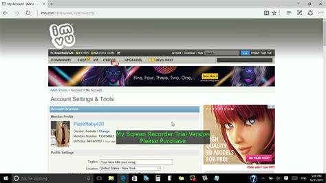 tutorial imvu hack 999999 dinero infinito ya no funciona get vip and ap for imvu for free
