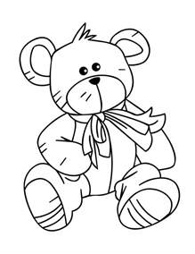 teddy coloring pages free printable teddy coloring pages technosamrat