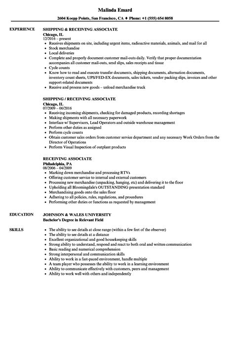 inventory associate sle resume professional