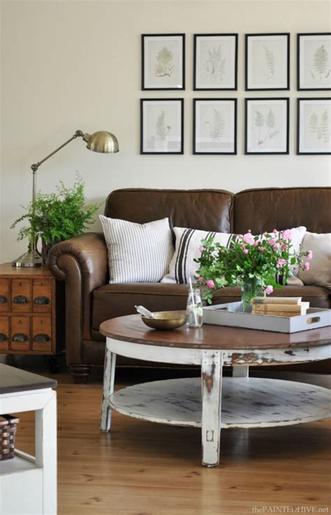 coffee table for leather sofa 10 beautiful brown leather sofas