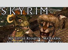 Skyrim Mods: Khajiit and Argonian Adoptable Children ... Living With Gamer Girl Comic