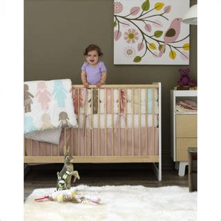 modern baby crib bedding dwellstudio paper dolls crib bedding collection modern