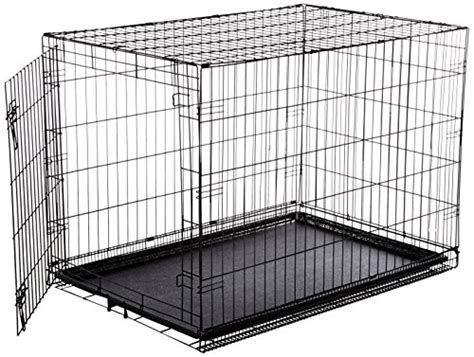 large kennel single door folding metal crate large cage kennel house pet supplies gift
