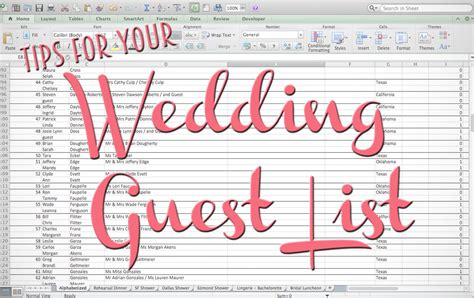 Wedding Invitation Guest List by Tips For Your Wedding Guest List The Yes