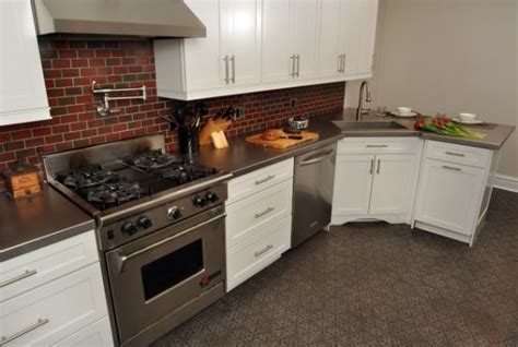 Stainless Steel Kitchen Countertops Stainless Steel Countertops Always The Best Choice In The Kitchen