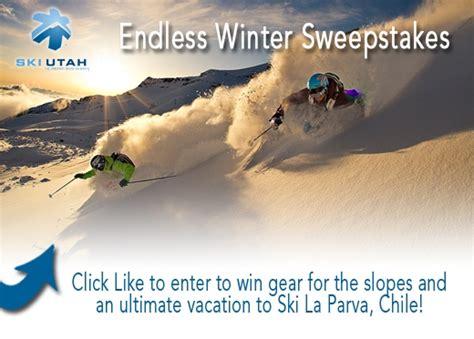 Ski Utah Sweepstakes - ski utah yeti to grant an endless winter