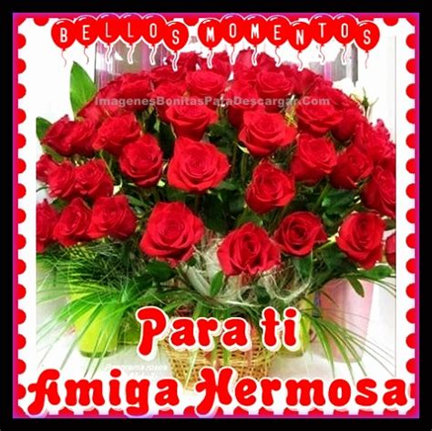 imagenes para una amiga con rosas flores con frases para una amiga reflexiones