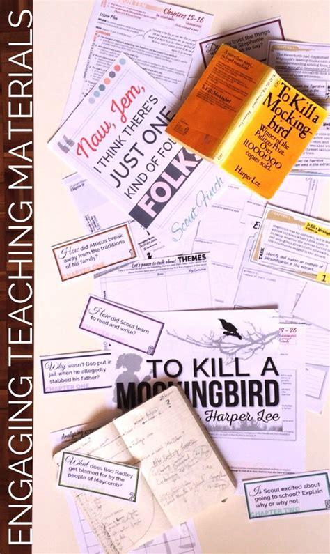 To Kill A Mockingbird Worksheets by To Kill A Mockingbird Bundle Worksheets