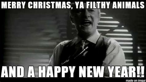 Merry Christmas Ya Filthy Animal Meme - merry christmas you filthy animal meme lizardmedia co
