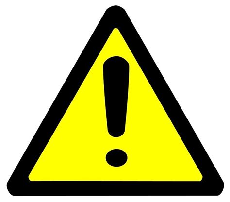 warning sign warning sign bold page frames full page signs bold