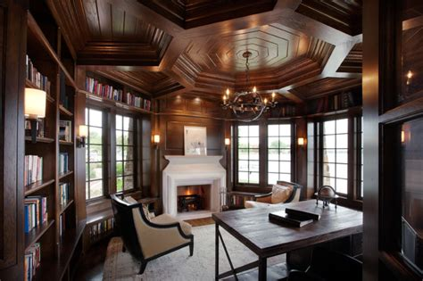 Home Office Design Minneapolis Tudor On The Point Traditional Home Office