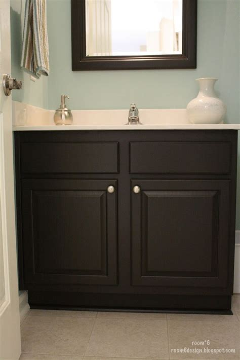 painted bathroom best 25 black cabinets bathroom ideas on pinterest