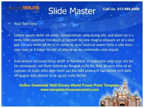 Download Walt Disney World Powerpoint Template Walt Disney Powerpoint Template