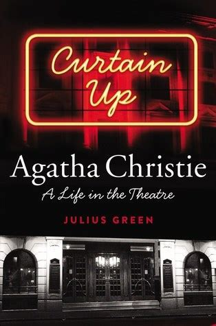 curtain  agatha christie  life   theatre