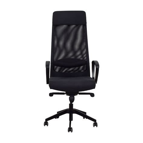 Black Office Chairs by 68 Ikea Ikea Black Office Chair Chairs