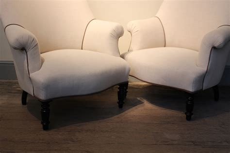 Upholstered Armchairs Uk by Pair Of 19th Century Upholstered Armchairs Furniture