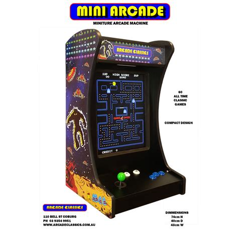 Bar Top Arcade Machine by Bar Top Arcade Machine