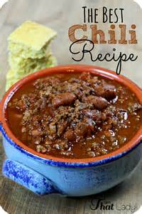 easy chili recipe dishmaps