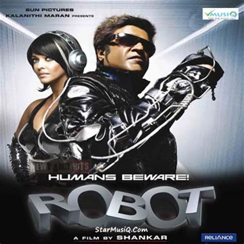 robot film songs for download robot 2010 hindi movie cd rip 320kbps mp3 songs music by
