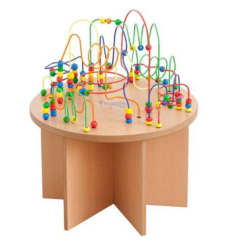 bead maze table bead activity table kinderspell