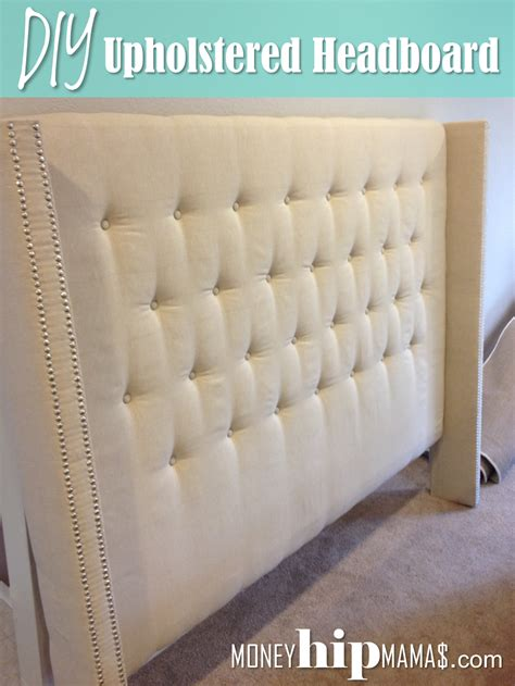 how to make an upholstered headboard with nailheads gorgeous diy headboards on money hip mamas diy upholstered