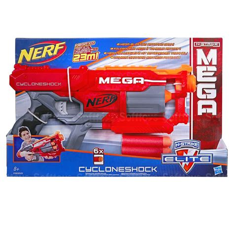 Nerf N Strike Elite Mega Cycloneshock Blaster 9 Kg бластер nerf mega n strike elite cycloneshock купить