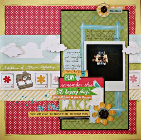 scrapbook layout classes paper pretty paper true stories and scrapbooking