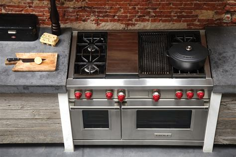 wolf 48 gas range wolf df484cg lp 48 quot dual fuel range with 4 sealed burners infrared charbroiler griddle