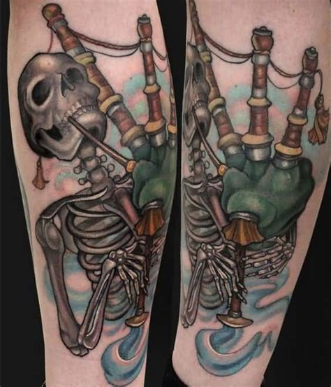 bagpipe tattoo designs 70 scottish tattoos and designs golfian