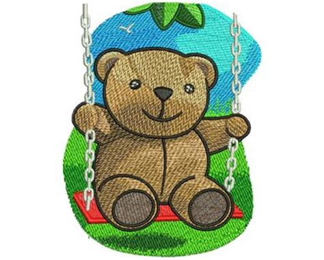 swinging teddy fastpitch swing production ready artwork for t shirt