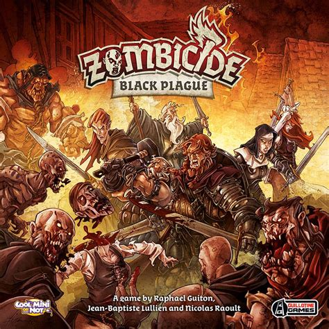 Zombicide Black Plague Board Original Boardgame guillotine take zombicide fantastical with black plague