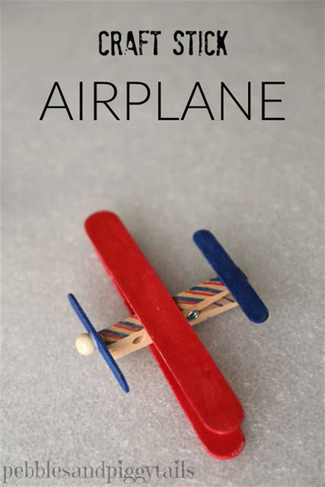 airplane craft projects 20 popsicle stick crafts for