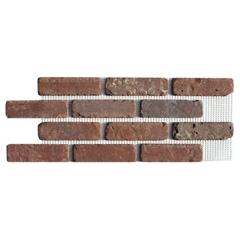 home depot decorative bricks old mill brick boston mill brickweb thin brick flats bw