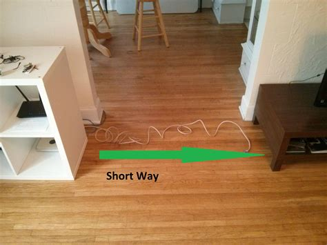 hiding cable wires along wall uncategorized how to conceal cable wires