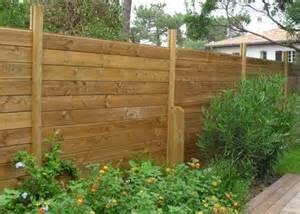 planches de clture jardin idea bois nicolas